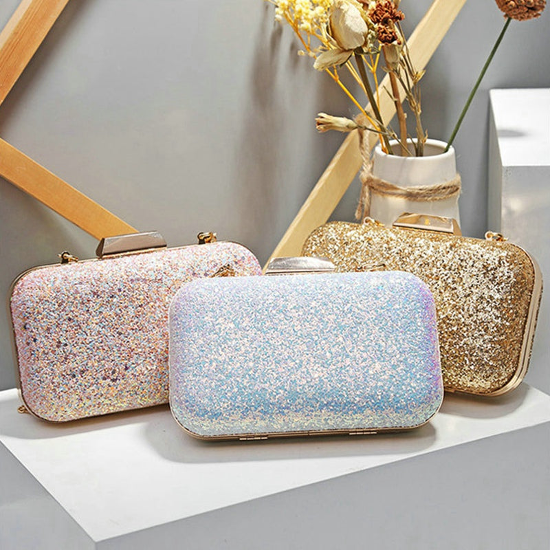 Evening Bag Diamond Rhinestone Clutches Crystal Bling Clutch Bag Purses
