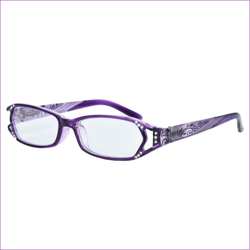Bing Reading Glasses Crystal Readers Spring Hinges With Rhinestones - Reading Glasses Reading Glasses