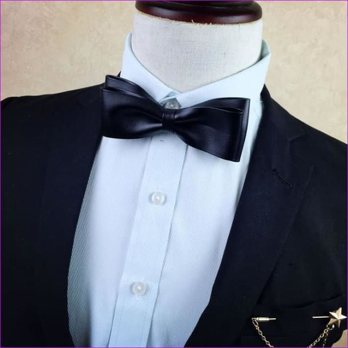 British Rhinestone Bow Tie Brooch Mens Brooches Pins General Bowtie - 11 - Tuxedo Shirts Tuxedo Shirts