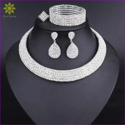 Nigerian Wedding Jewelry set gold color Jewelry set design