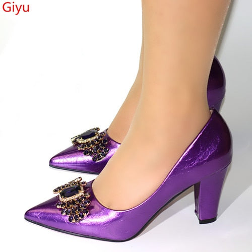 Purple Bridesmaid Shoes Wedding Without Bag