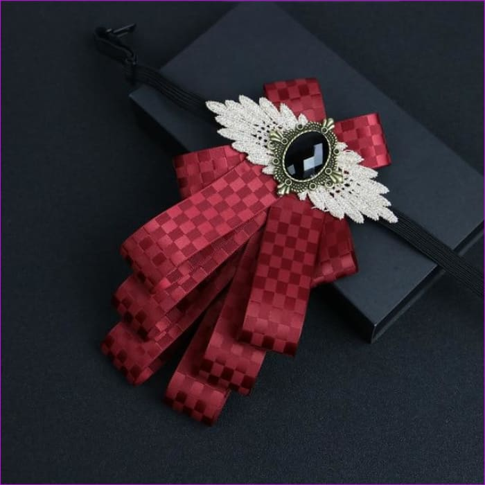 Flower Rhinestone Cloth Art Pins And Brooches Mens Clothing & Accessories Shirt Collar - 10 - Tuxedo Shirts Tuxedo Shirts