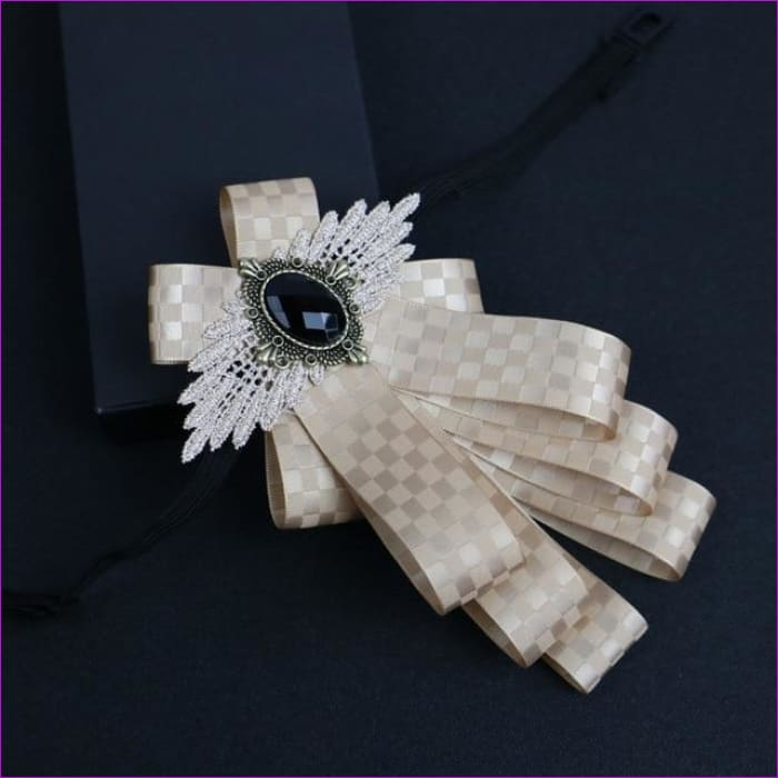 Flower Rhinestone Cloth Art Pins And Brooches Mens Clothing & Accessories Shirt Collar - 12 - Tuxedo Shirts Tuxedo Shirts