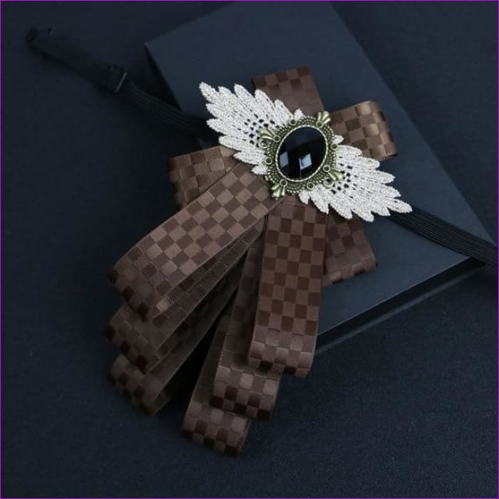 Flower Rhinestone Cloth Art Pins And Brooches Mens Clothing & Accessories Shirt Collar - 13 - Tuxedo Shirts Tuxedo Shirts