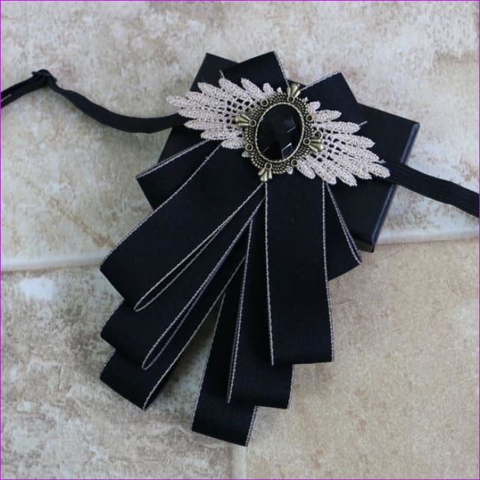 Flower Rhinestone Cloth Art Pins And Brooches Mens Clothing & Accessories Shirt Collar - 19 - Tuxedo Shirts Tuxedo Shirts