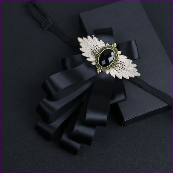 Flower Rhinestone Cloth Art Pins And Brooches Mens Clothing & Accessories Shirt Collar - 3 - Tuxedo Shirts Tuxedo Shirts