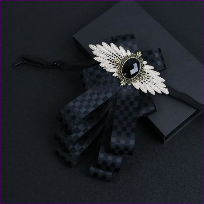 Flower Rhinestone Cloth Art Pins And Brooches Mens Clothing & Accessories Shirt Collar - 5 - Tuxedo Shirts Tuxedo Shirts
