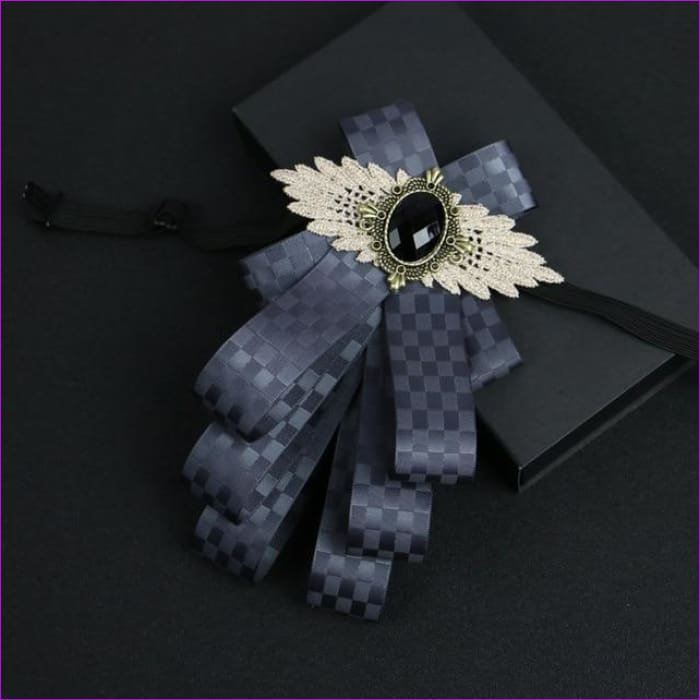 Flower Rhinestone Cloth Art Pins And Brooches Mens Clothing & Accessories Shirt Collar - 7 - Tuxedo Shirts Tuxedo Shirts