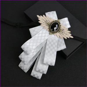 Flower Rhinestone Cloth Art Pins And Brooches Mens Clothing & Accessories Shirt Collar - 9 - Tuxedo Shirts Tuxedo Shirts