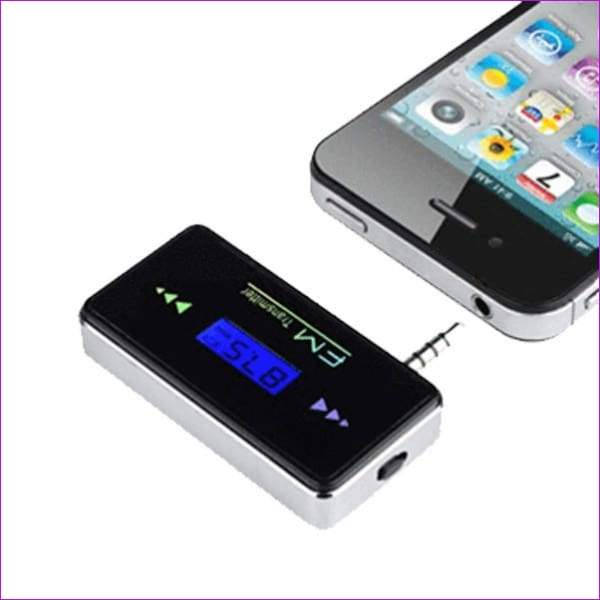 iPhone and Smartphone Car Stereo Wireless FM Transmitter - Wireless Electronics
