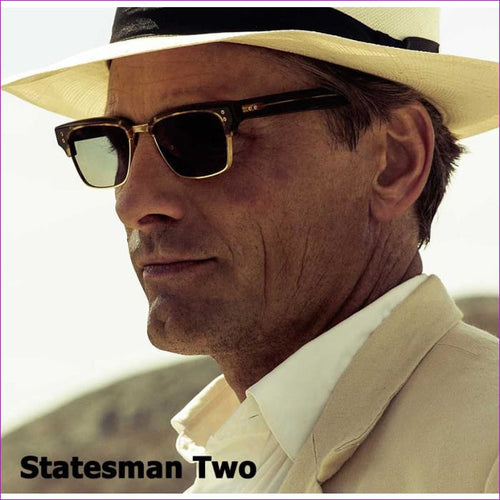 JackJad Fashion The Statesman Two Style Traveler Sunglasses Cool Vintage Brand Design Sun Glasses Eyewear Frame Oculos De Sol - Mens