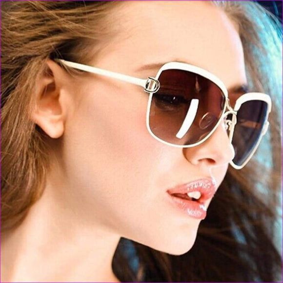 Luxury D frame Shades Glasses gradient lenses sunglasses Designer Sunglasses - Sun Glasses