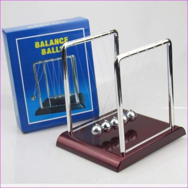 Newton Teaching Science Desk toys Cradle Steel Balance Ball Physic School Educational Supplies home decoration accessories