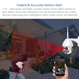 Outdoor 1080P Speed Dome Security Camera CCTV Pan Tilt 4X Zoom IR Audio Surveillance