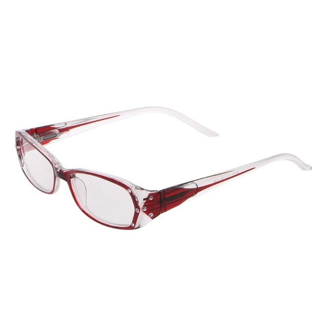Inlaid Rhinestone Reading Glasses Lady I Glasses Diopter +1.0 +1.5 +2.0 +2.5 +3.0 +3.5 +4.0
