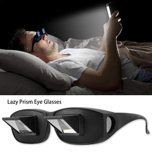Horizontal Glasses for Watching TV and Reading 1 Pair Lazy Glasses Lying Down Bed Horizontal