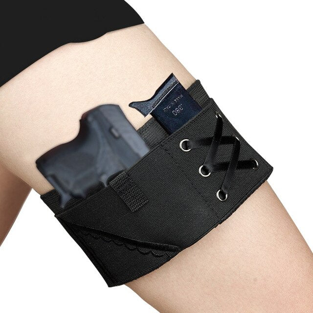 Concealed Drop Leg Holster Anti-skid Tactical Pistol Thigh Holster Military Shooting Women Leg Holsters