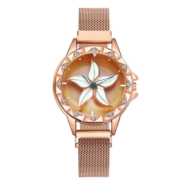 Bling Casual Ladies Watch Female Quartz Gold Watch Crystal Diamond Leopard For Women Clock