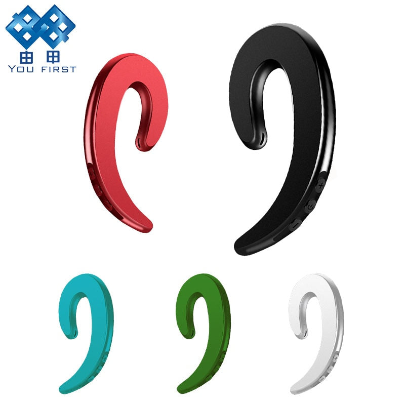 Bluetooth Earphone Hook Painless iPhone Android EarPhone
