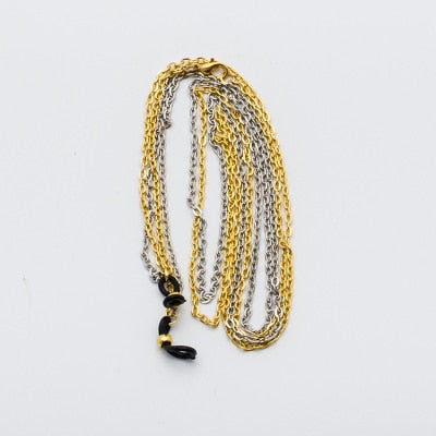 Sunglasses Chain holder Fashion Sun glasses neck Chain Metal