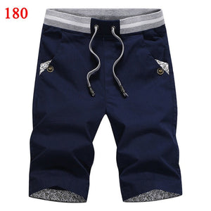 Solid casual shorts men cargo shorts plus size beach shorts M-4XL