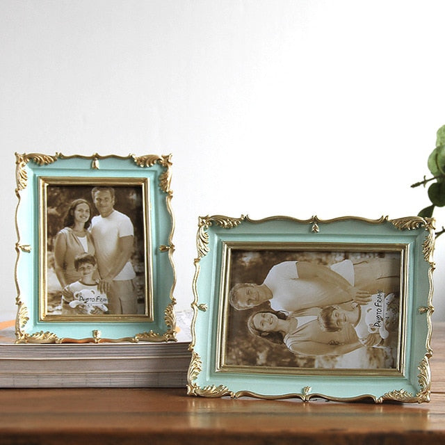 Wedding Desktop Picture Frames Living Room Home Decor Resin Photo Frame Popular Gift