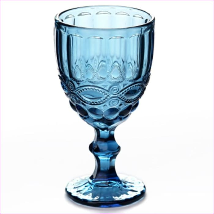 Relief Red Wine Cup 300ml Engraving Embossment Wine Glass Cups Champagne Assorted Goblets - Wine Glasses Wine Glasses