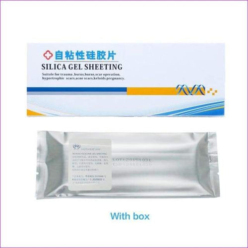 Surgery Removal Scar Sheet Therapy Patch Silicone Gel Caesarean Scar Skin Repair - 1 PC With Box - Health