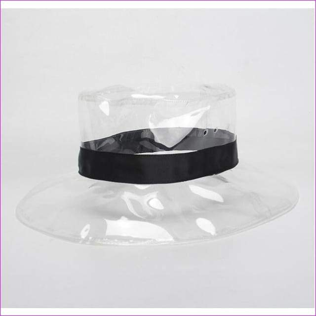 Transparent Wedding Hats hat Fashion Headwear - Black - Bridal Hats
