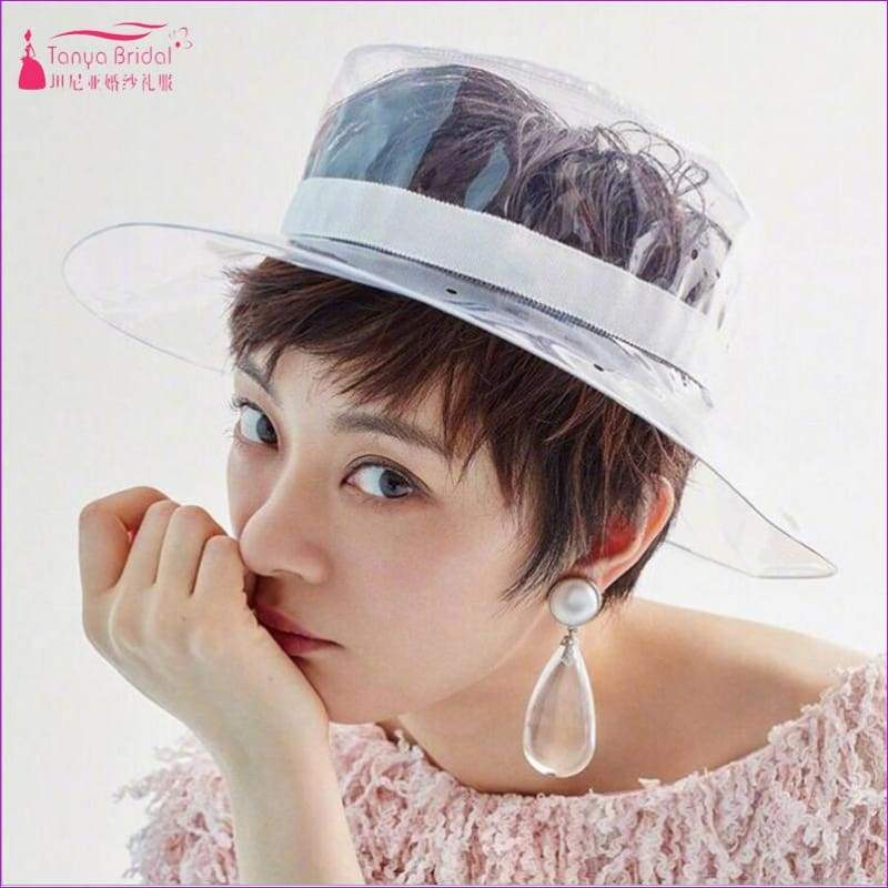 Transparent Wedding Hats hat Fashion Headwear - Bridal Hats