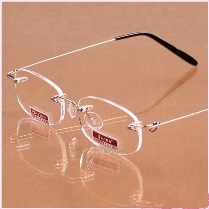 Ultralight Frameless Reading Glasses Unisex High-Definition Rimless glasses Free Shipping - Reading Glasses Reading Glasses