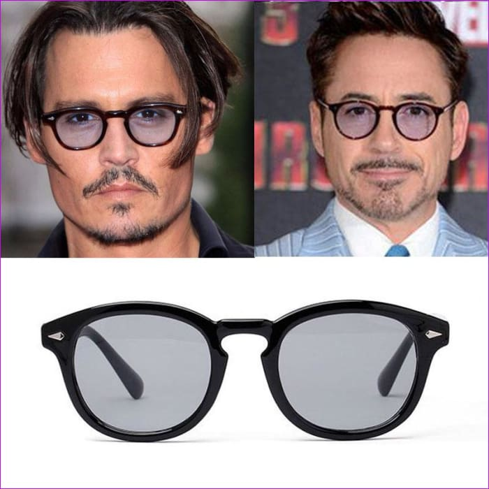 Vikulsi Super Star Sunglass Men 2016 Vintage Fashion Sunglasses Women Brand Designer Johnny Depp Rivet Sun Glasses Oculos de sol - Mens