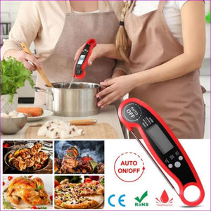 Waterproof Digital Food Meat Thermometer Baking BBQ Thermometer Kitchen Gadget - BBQ Cooking BBQ Accessories