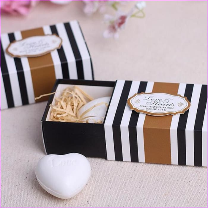 Wedding Souvenirs White Love Heart Soap Wedding Favors And Gifts Wedding Gift For Guests - Wedding Favors Wedding Favors