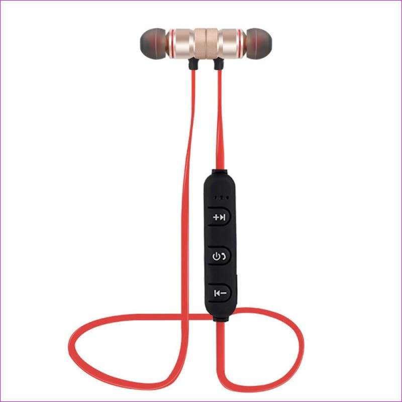 Wireless Bluetooth 4.1 Outdoor Sport Earphone - golden - Wireless Electronics