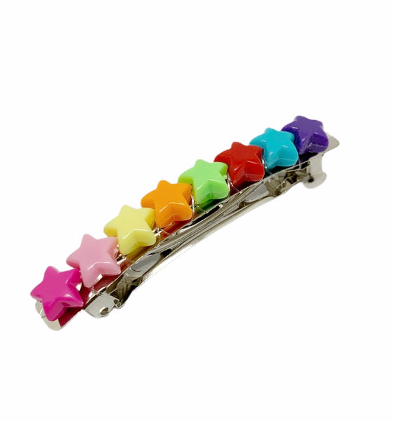Barrettes CANDY - Pompons et Coquillages