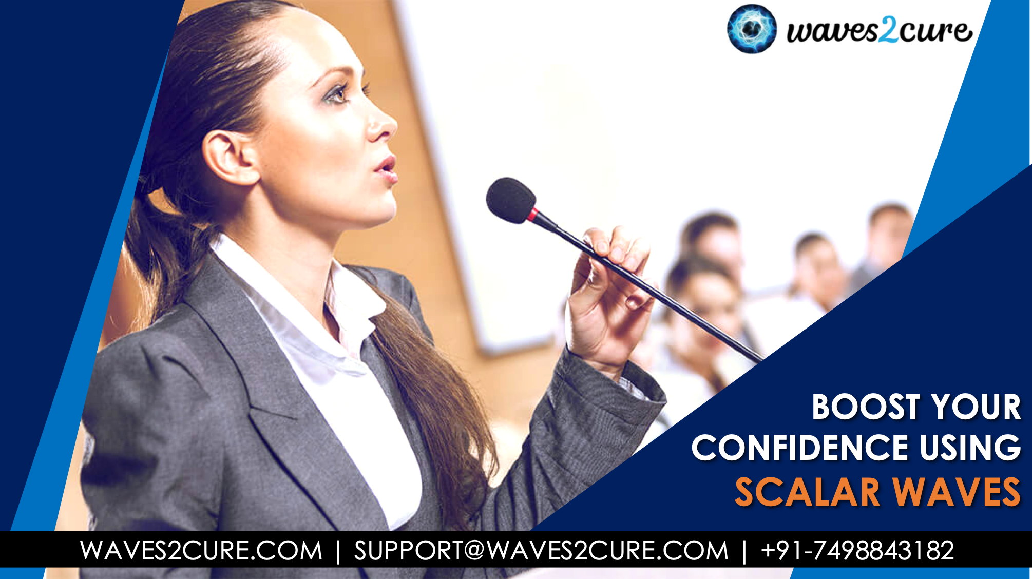 Boost Your Confidence Using Scalar Waves