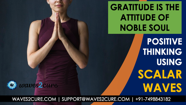 Gratitude Is The Attitude Of Noble Soul