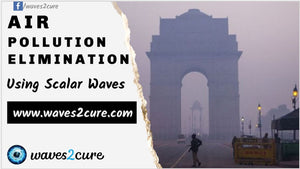 Air Pollution Elimination Using Scalar Waves