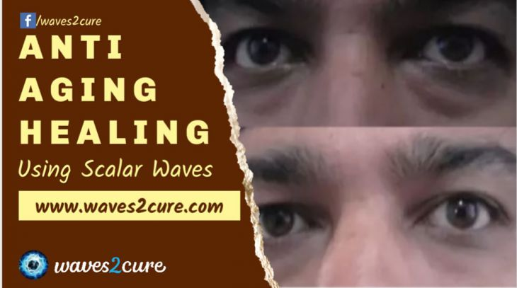 Anti Aging Healing Using Scalar Waves