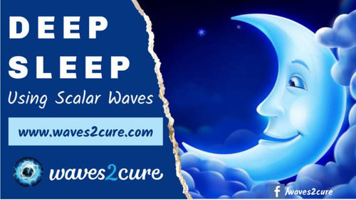 Deep Sleep To Heal Insomnia Using Scalar Waves