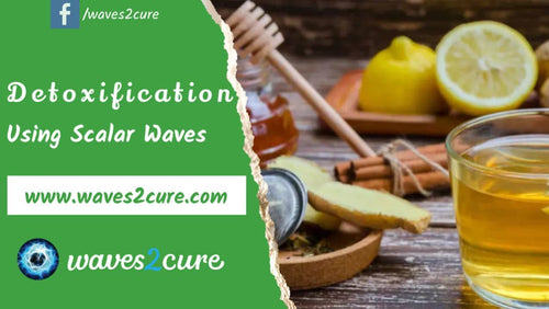 Detoxification Using Scalar Waves