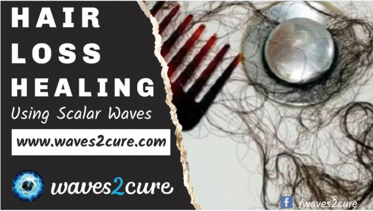Hair Loss Healing Using Scalar Waves
