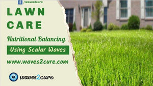 Lawn Care Using Scalar Waves