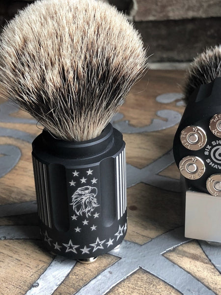Freedom & Gambler Shave Brushes