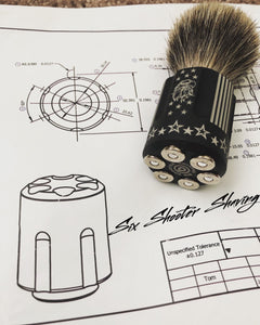 Print to Part : .38 Caliber Shave Brushes