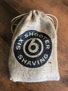 ".38 Special Revolver Shave Brush - ""The OutLaw"""