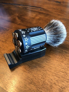 Shave Brush Display Stand - Six Shooter Shaving