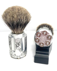 Badger Shave Brush - Gambler - Six Shooter Shaving
