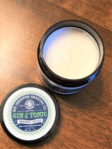 Gin & Tonic Shaving Cream - 4oz.